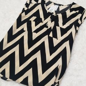 A'gaci patterned blouse